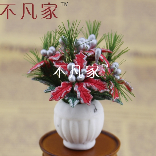 FREE SHIPPING dollhouse decoration 1/12 scale well made elegant gorgeous miniature flower