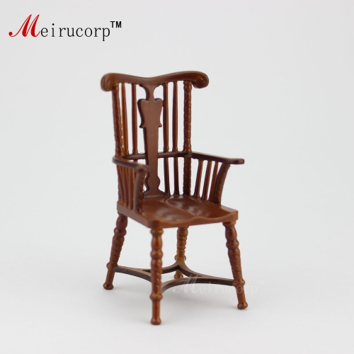 Dollhouse 1:12 scale Miniature furniture wood Armchair 10322