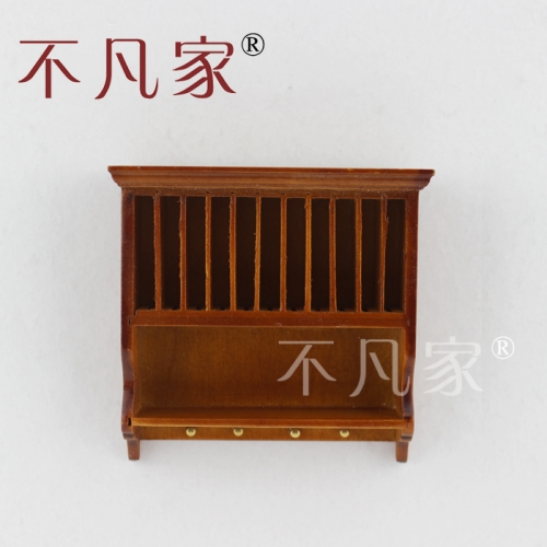 Dollhouse 1/12th Scale Miniature furniture Handmade Suspension type cabinet