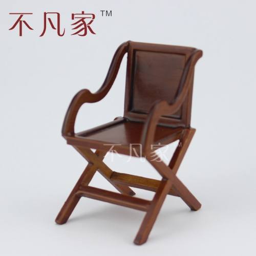 Dollhouse 1/12 scale miniature furniture Exquisite Perfect wood Armchair