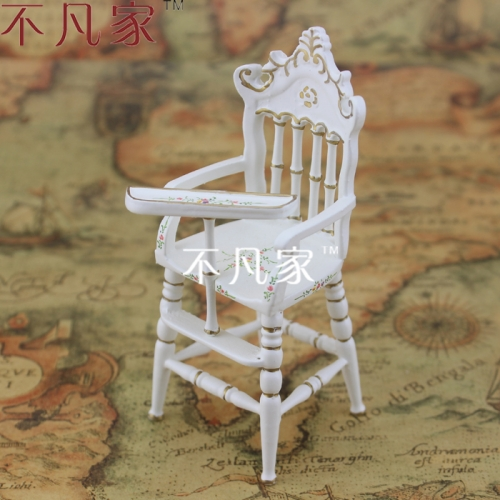 Doll house 1/12 scale mini furniture dollhouse miniature child chair