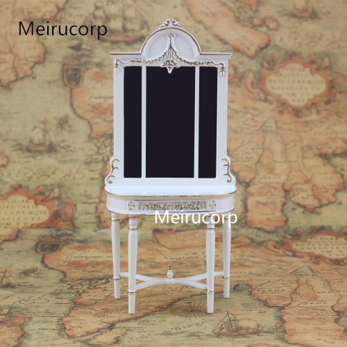 1/12 scale doll house miniature furniture white Handmade gilt Porch Ark