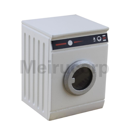1:12 scale dollhouse miniature Household appliance model white drum washing machine
