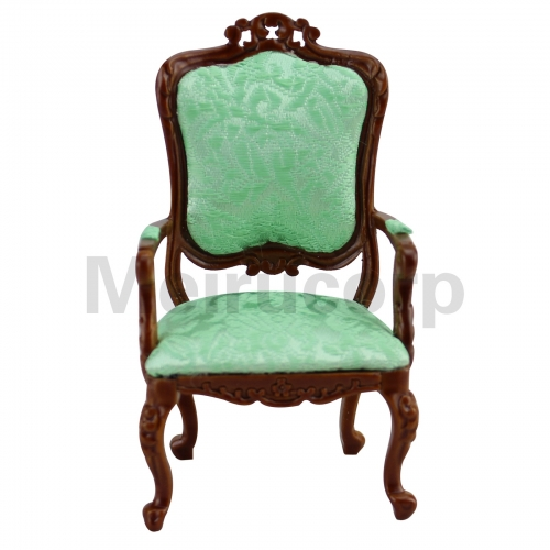 Dollhouse 1/12 Scale Miniature Furniture living room chair Wooden carving model